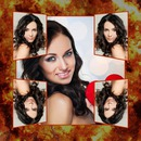 Fire photomontage 5 selfie pictures