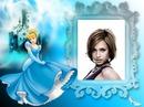 Child frame Cinderella Disney