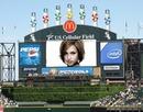 Screen billboard Racecourse Scene