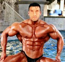 Bodybuilder Rostro hombre
