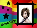 Multicolour frame Good Day Stars
