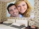 Painting Hotel bedroom Scene