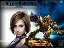 Children frame Transformers Bumblebee
