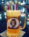 Beer mug Candles Birthday