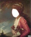 Femme au chien