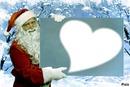 Père Noel coeur