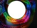 bracelet fluo -cadre rond -1 photo