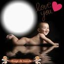 bébé d'amour message