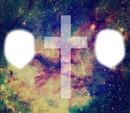 croix swag plus fond galaxie