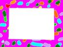 cadre coloré -1 photo